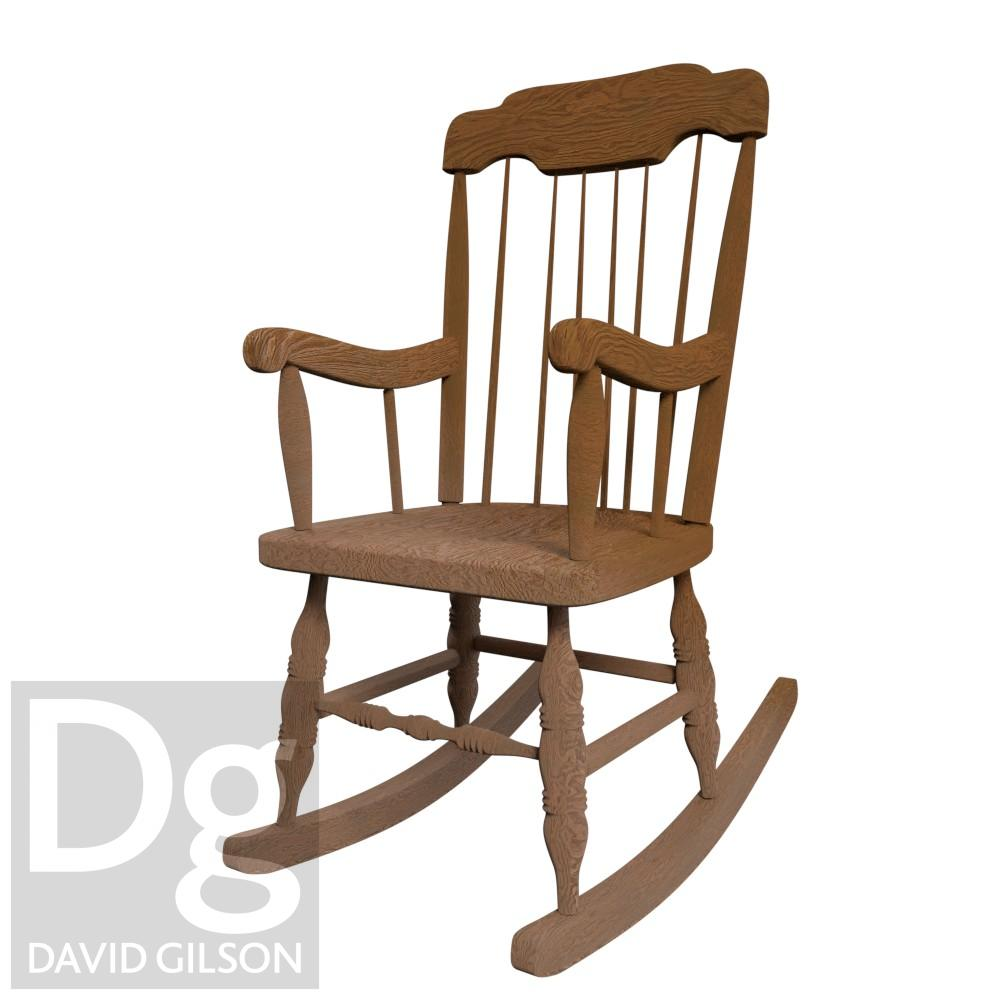 Rocking chair modelling study